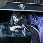 Женщина в гробу